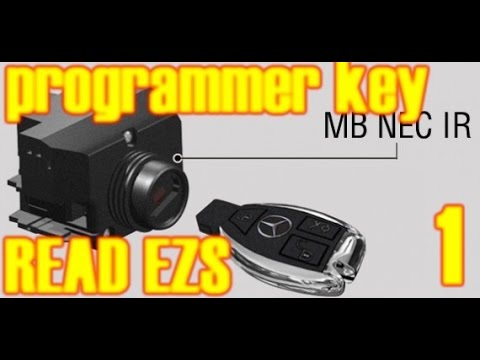 how you can add key or all key lost mercedes w203 4 ooo