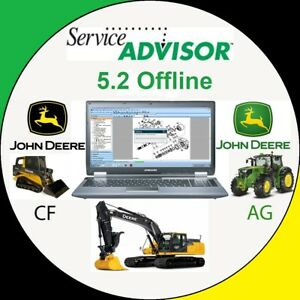 John Deere Service Advisor 5.2.471 DATABase 2018 2 s l300
