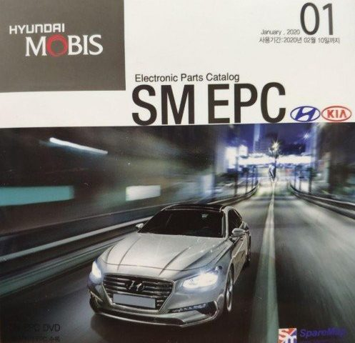 Hyundai and Kia SM EPC 2020 Multilingual Free Downlead