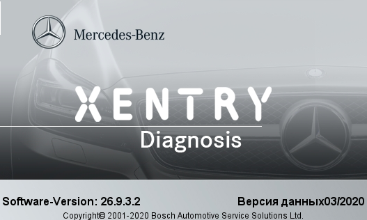 Xentry Pass Thru 2020.3.3 mercedes benz star diagnostic
