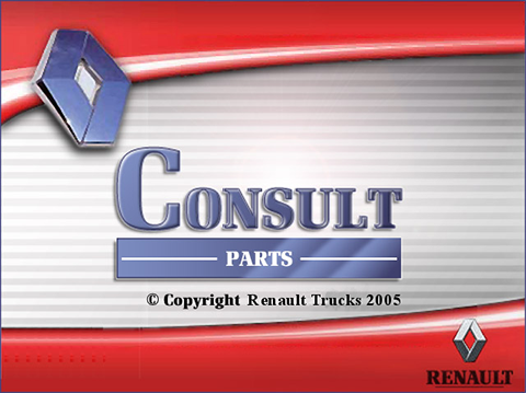 Renault Trucks Consult 2018 parts catalog Multilingual