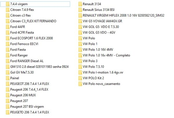 KITS FILE DUMP ECU 1 KITS FILE DUMP Virgine immo off ECU BODY