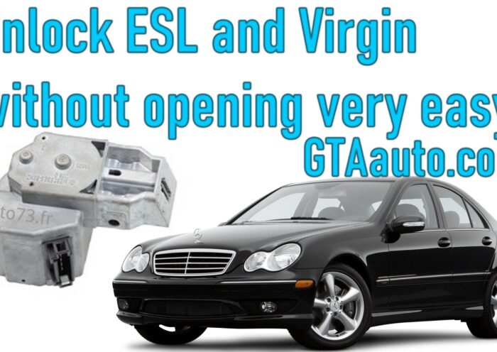AVDI unlock ESL / ELV and virgin without opening very easy 2 Sans titre 1
