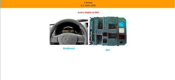 Dashboard PIN OUT LOCALIZATION EEPROME DIAGRAM ALL IN ONE Multilanguage 6 57 20
