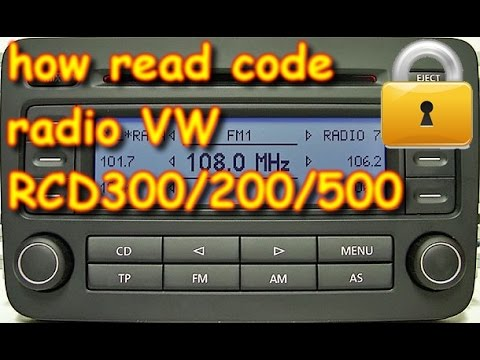 Volkswagen Radio how you can read PIN by xprod 1 hqdefault 1