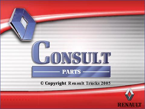 Renault Trucks Consult 2018 parts catalog Multilingual