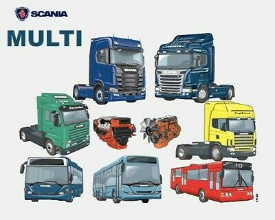Scania Multi 2020 version 20.50.0.3 Multilingual 1 Scania Multi 1219 last update 052020 Xcom
