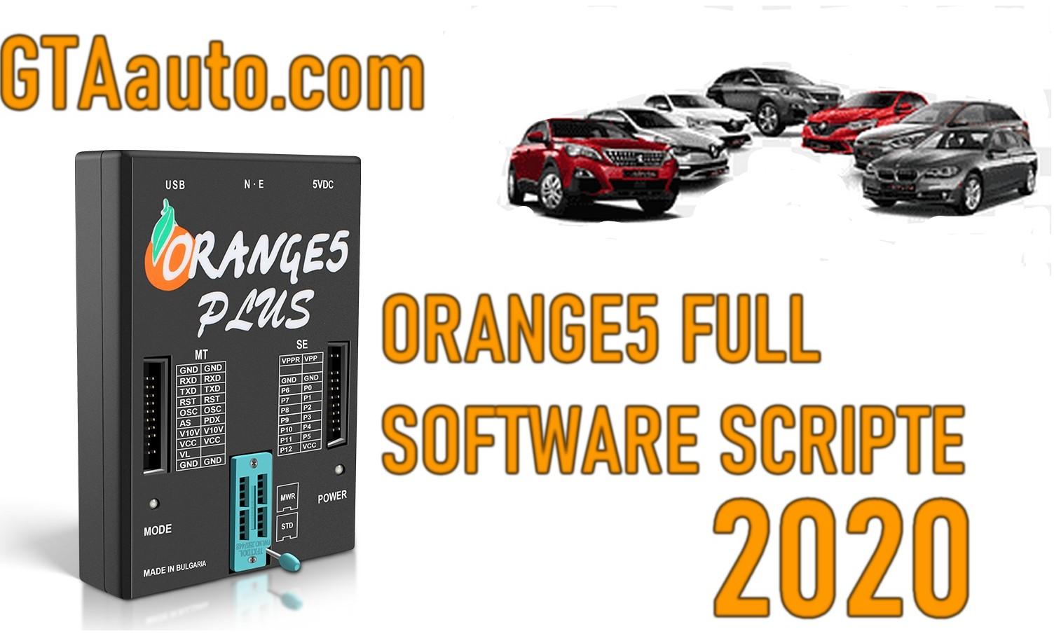 Orange5 Programmer Full Software Script 2020 Airbag Immobilizer dashboard ECU ..Big database 1 Sans titre 3
